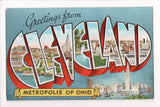 OH, Cleveland - Greetings from, Large Letter (ONLY Digital Copy Avail) - MT0015