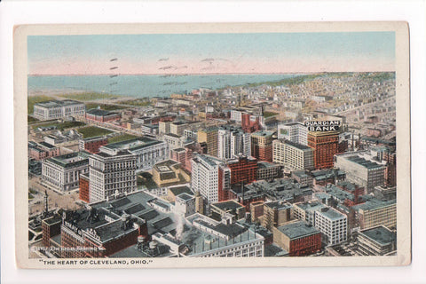 OH, Cleveland - Bird Eye View, Guardian Bank (ONLY Digital Copy Avail) - S01536