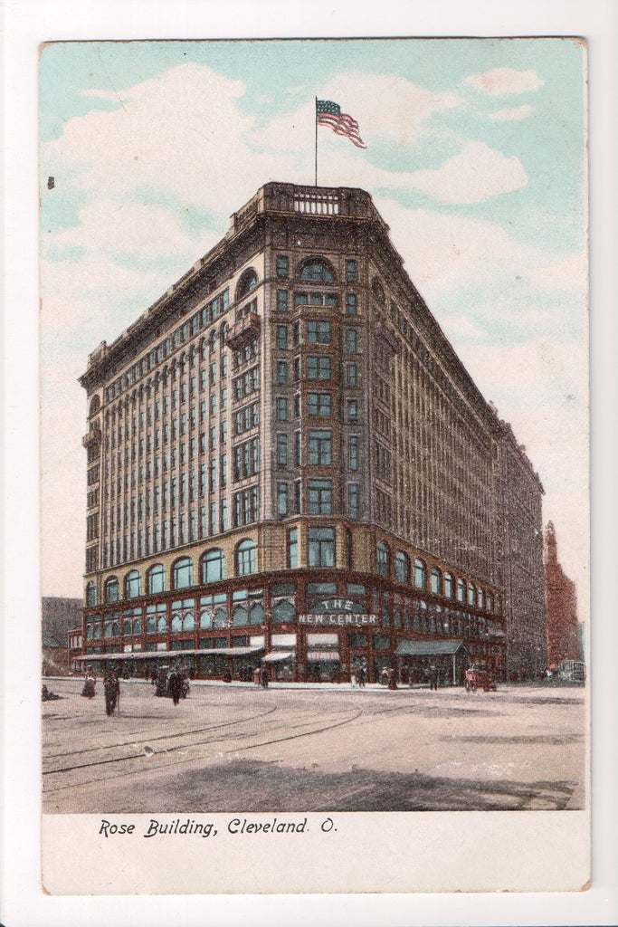 OH, Cleveland - Rose Building, The New Center postcard - SH7316