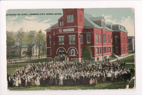 PA, Edinboro - Edinboro State Normal School, gathering for Chapel - G06052