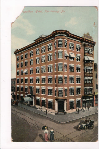 PA, Harrisburg - Metropolitan Hotel - MB0028 **DAMAGED / AS IS**