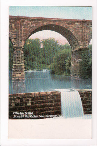 PA, Philadelphia - Fairmount Park - Wissahickon Drive, bridge? - D17197
