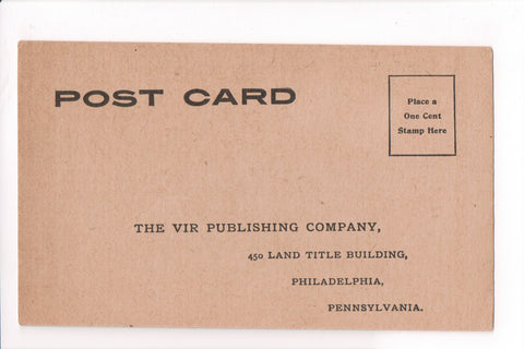 PA, Philadelphia - VIR Publishing Co Advertising or Reply card - B17074