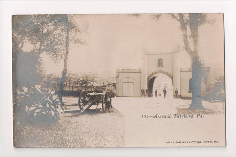 PA, Pittsburg - Arsenal, Canon, uniformed men (ONLY Digital Copy Avail) - C08602