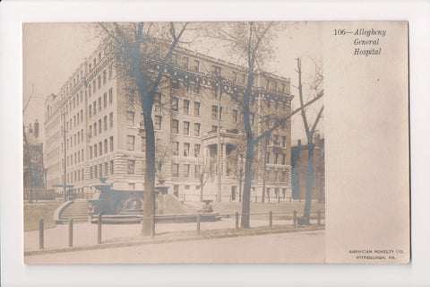PA, Pittsburgh - Allegheny General Hospital - RPPC - C08601