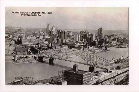 PA, Pittsburgh - Point Bridge - Golden Triangle (ONLY Digital Copy Avail) - CP0304
