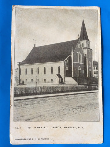 RI, Manville - St James RC Church (ONLY Digital Copy Avail) - H15061