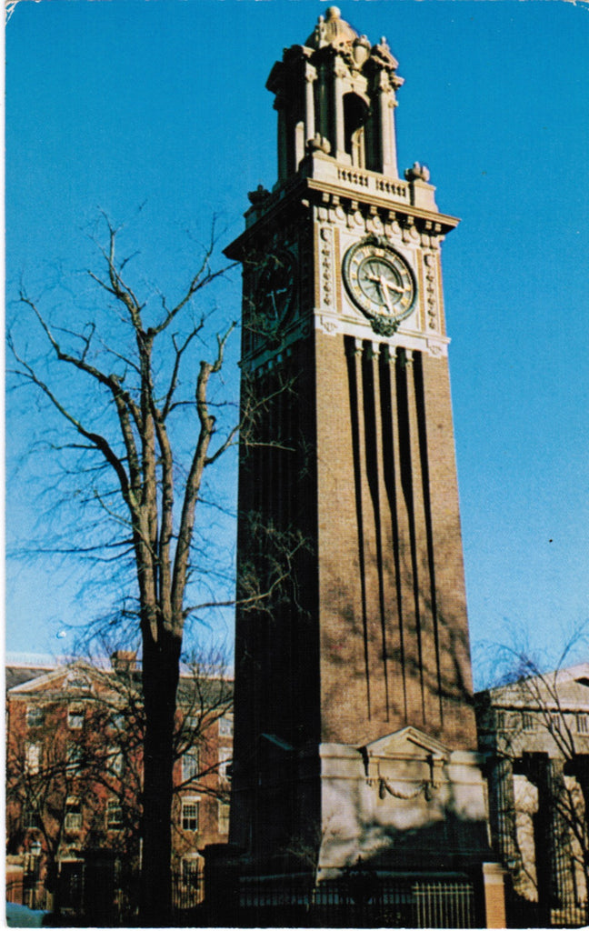 RI, Providence - Brown Univ, Clock Tower - 605172