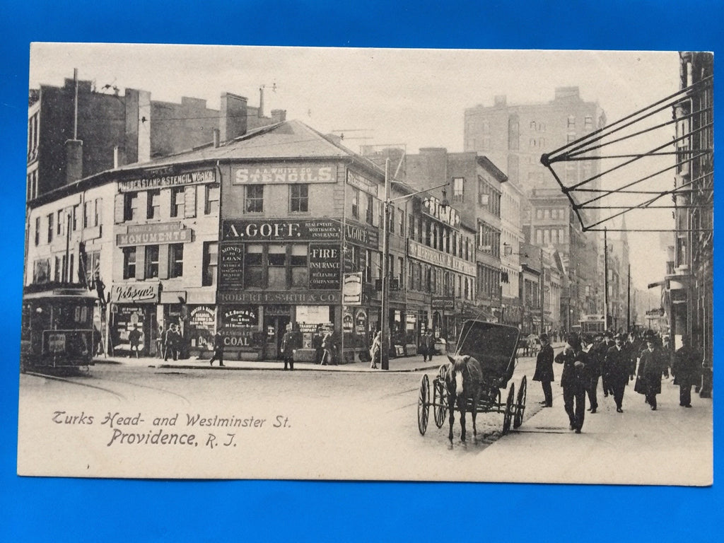 RI, Providence - Turks Head, Westminster St (ONLY Digital Copy Avail) - A10072