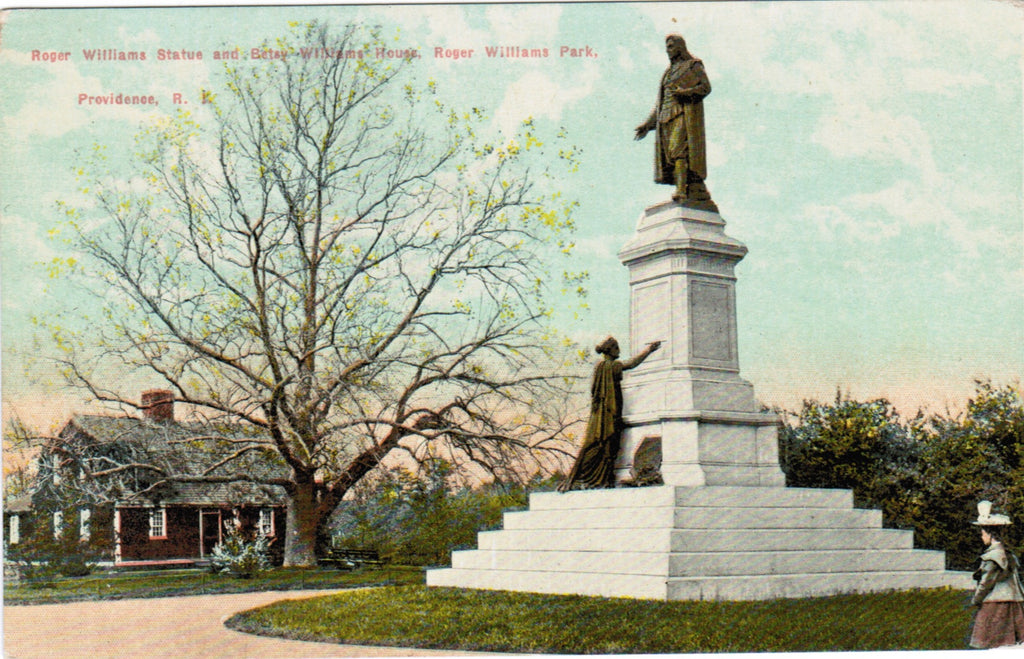 RI, Providence - Roger Williams statue (ONLY Digital Copy Avail) - D04080