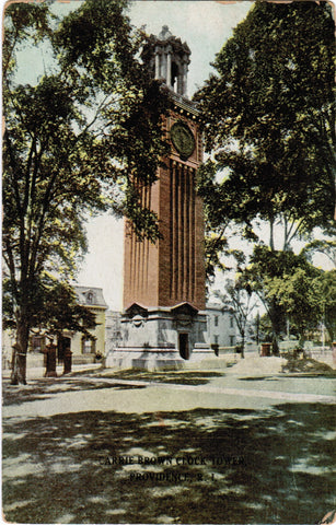 RI, Providence - Brown Univ, Clock Tower (ONLY Digital Copy Avail) - E04300