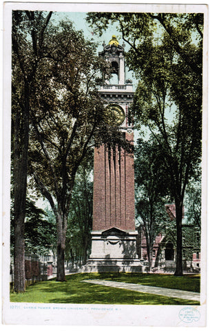 RI, Providence - Brown Univ, Carrie Tower - T00023