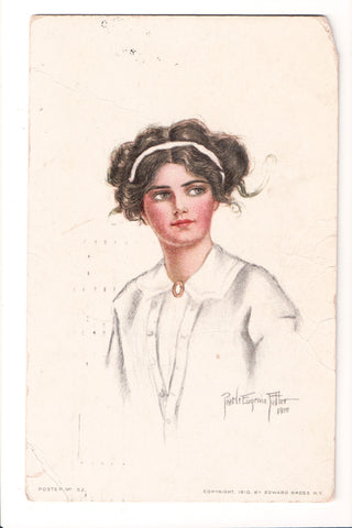 People - Female postcard - Pretty Woman - Pearle Eugenia Fidler - S01033