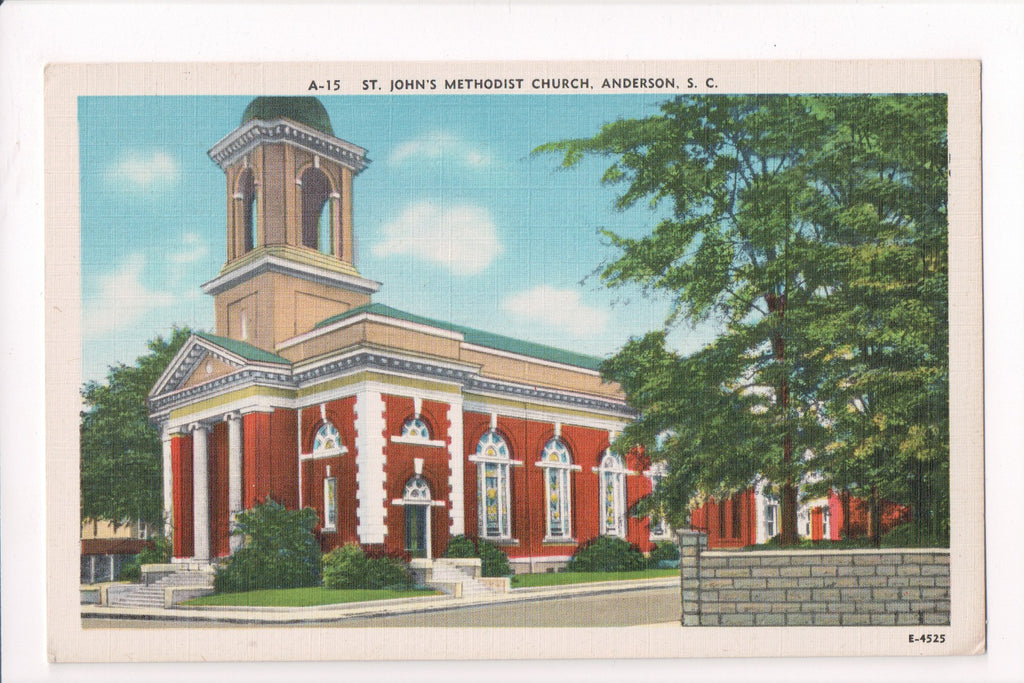 SC, Anderson - St Johns Methodist Church - A06739
