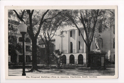 SC, Charleston - The Fireproof Building, First in America - A06738