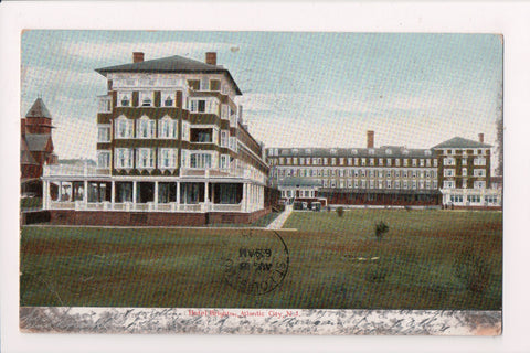 NJ, Atlantic City - Hotel Brighton postcard - SL2479