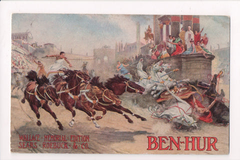 IL, Chicago - Wallace Memorial Edition BEN-HUR book Advertisement - MB0698