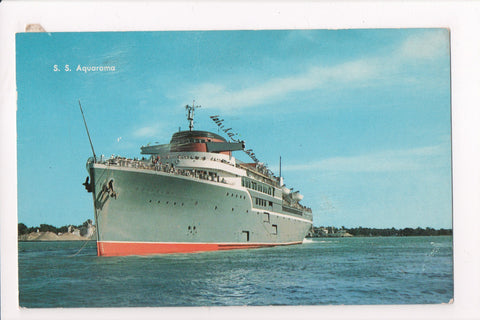 Ship, Boat or Steamer Postcard - AQUARAMA - SS Aquarama - F17090
