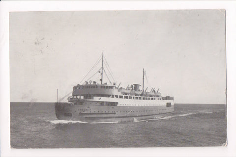 Ship, Boat or Steamer Postcard - ABEGWEIT - QSMV Abegweit- Boy Scout - NL0183