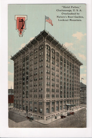 TN, Chattanooga - Hotel Patten postcard - A12062