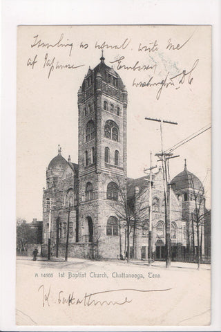 TN, Chattanooga - 1st Baptist Church (ONLY Digital Copy Avail) - E10419