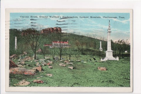 TN, Lookout Mountain - General Walthalls Headquarters etc - MT0001