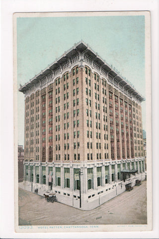 TN, Chattanooga - Hotel Patten postcard - SL2278