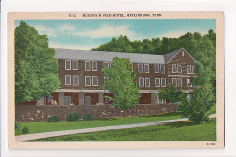 TN, Gatlinburg - Mountain View Hotel postcard - C04140