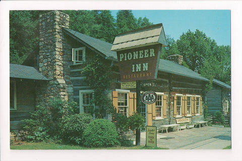 TN, Gatlinburg - Pioneer Inn Restaurant, L S French and D S Fulton - w02313