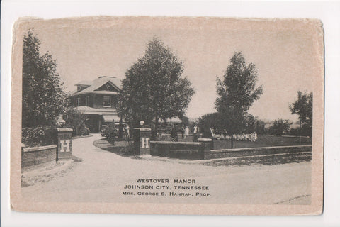 TN, Johnson City - Westover Manor postcard - w04840