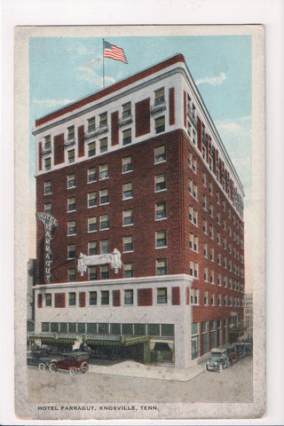 TN, Knoxville - Hotel Farragut postcard - I04057