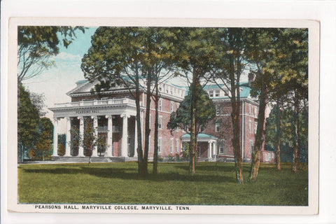 TN, Maryville - Maryville Collede, Pearsons Hall - B06551