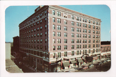TN, Memphis - Hotel Chisca, Fill in the blanks on postcard - C08108