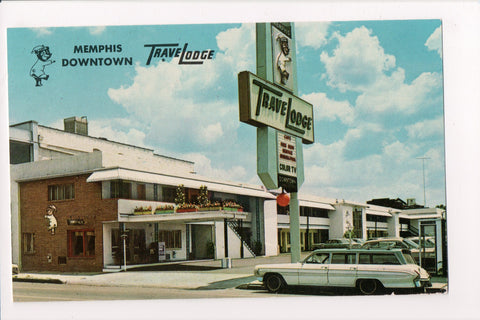 TN, Memphis - Travel Lodge - vintage postcard - T00242