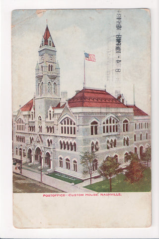 TN, Nashville - Custom House, Post Office postcard - G06077