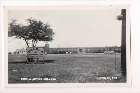 TX, Carthage - Panola Junior College (ONLY Digital Copy Avail) - B17199