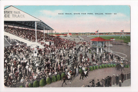 TX, Dallas - State Fair Park, Race Track (Arlington Downs) - CP0259