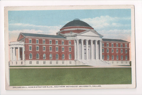 TX, Dallas - Southern Methodist University, Dallas Hall - CP0260