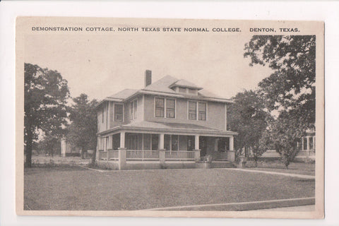 TX, Denton - North Texas State Normal College, Demonstration Cottage - C17613