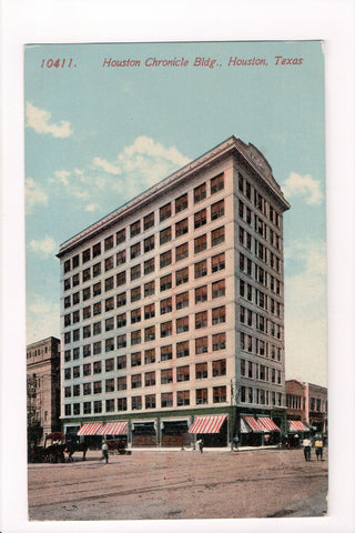 TX, Houston - Houston Chronicle Building postcard - CP0265