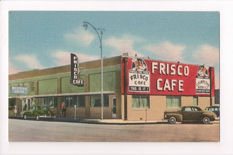 TX, Odessa - Frisco Cafe, Bronchos Home (ONLY Digital Copy Avail) - B17194