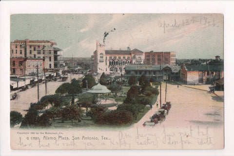 TX, San Antonio - Alamo Plaza, HUGO, SCHMELTZER and Co etc - 801014