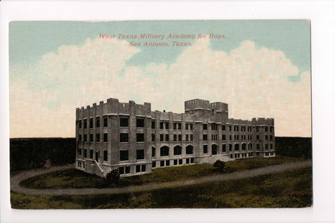 TX, San Antonio - West Texas Military Academy - Dahrooge - CP0264