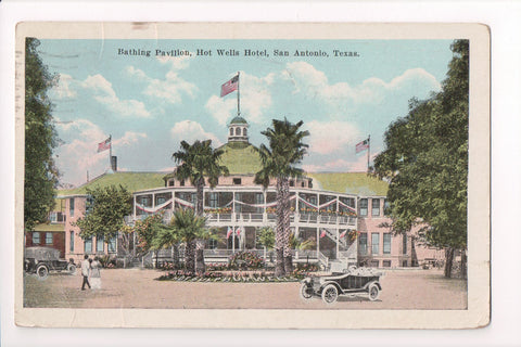 TX, San Antonio - Hot Wells Hotel, Pavilion (ONLY Digital Copy Avail) - CP0279