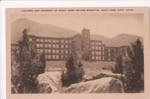 UT, Salt Lake City - Saint Mary of the Wasatch college and academy - cr0156