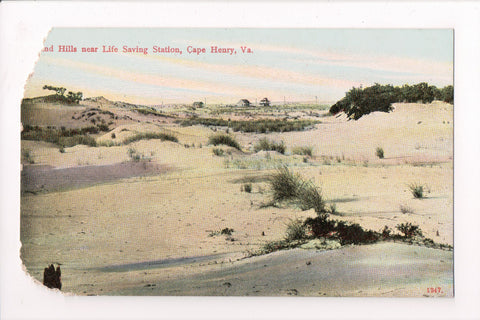 VA, Cape Henry - Sand Hills - I Stern postcard - z17023 **DAMAGED / AS IS**