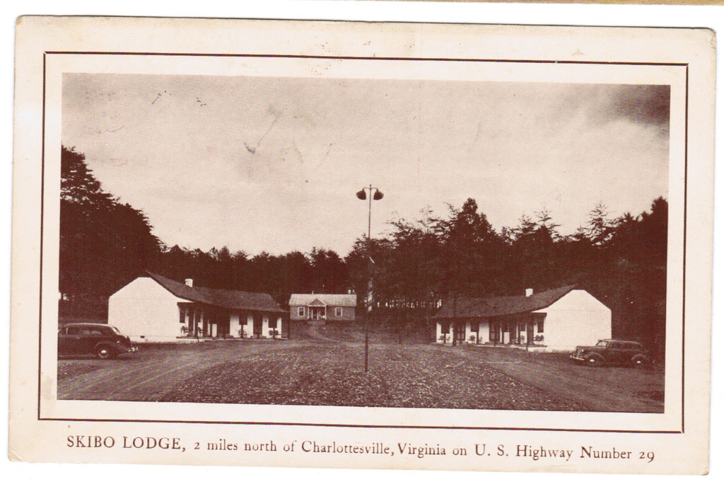 VA, Charlottesville - Skibo Lodge (ONLY Digital Copy Avail) - C08537