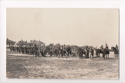 VA, Fort Myer - Field Artillery at drill - USTC (ONLY Digital Copy Avail) - A05159