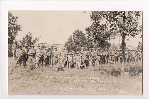 VA, Fort Myer - 5th Infantry Company USTC, rifles, bayonets - A05160