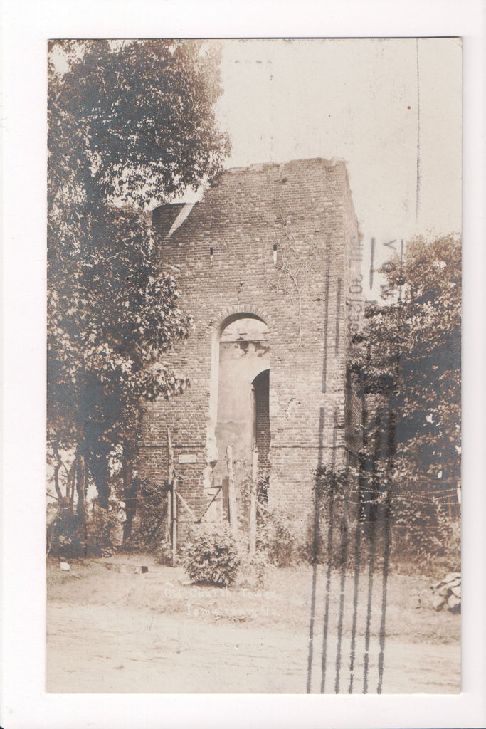 VA, Jamestown - Old Church Tower (ONLY Digital Copy Avail) - w03024